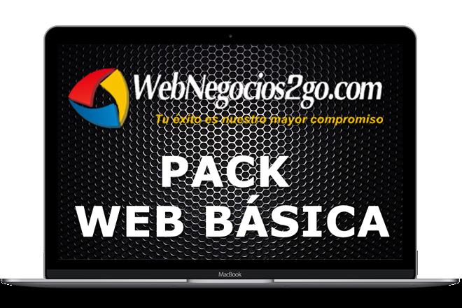 DISEÑO DE PAGINA WEB EN MADRID - PAGINA WEB BASICA